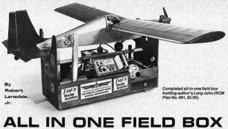 All In One Field Box model airplane plan
