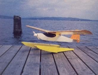 Aqua Sport model airplane plan