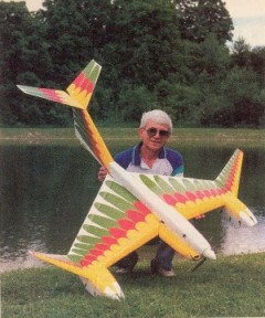 Aquabird model airplane plan