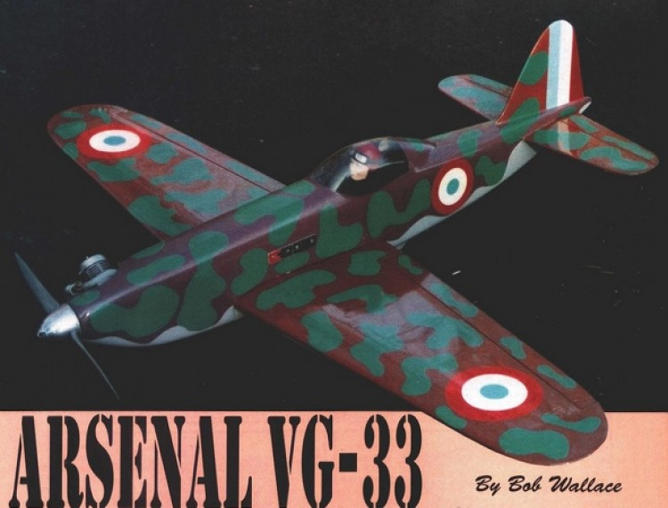 Arsenal VG-33 model airplane plan
