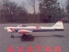 Avatar model airplane plan