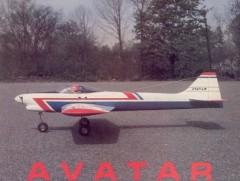 Avatar model airplane plan