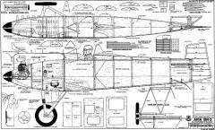 Avia BH-3 model airplane plan