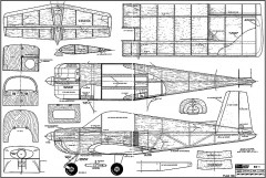 Bede BD-1 model airplane plan