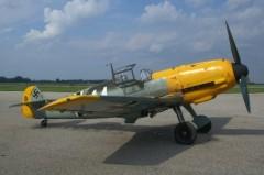 BF-109E model airplane plan