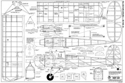 Baby Ace model airplane plan