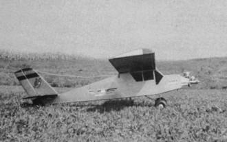 Bambi model airplane plan