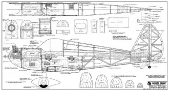 Bandito Grande RCM-1299 model airplane plan