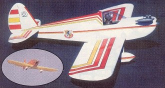 Bandito model airplane plan