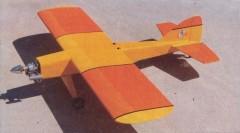 Basic .60 model airplane plan