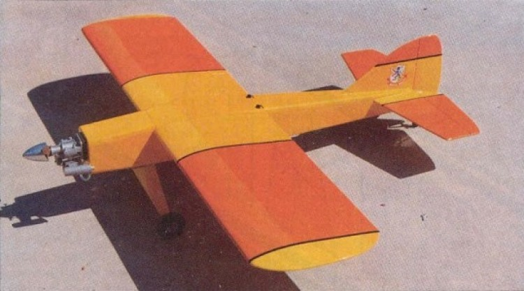 Basic .60 model airplane plan