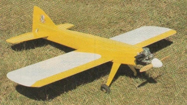 Basic 60 model airplane plan