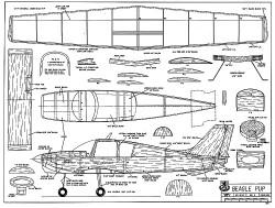 Beagle Pup model airplane plan