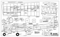 Beatnik model airplane plan