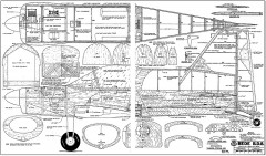 B.D-8 model airplane plan