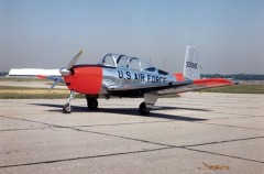 Beechcraft T-34 Mentor model airplane plan