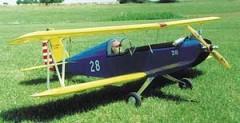 Big Old Bipe model airplane plan