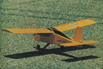 Bizzy Bee model airplane plan