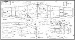 Black Diamond model airplane plan