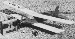 Bluebottle model airplane plan