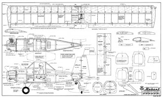Bobcat model airplane plan
