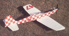 Bokkie II model airplane plan