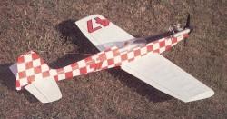 Bokkie II model airplane plan