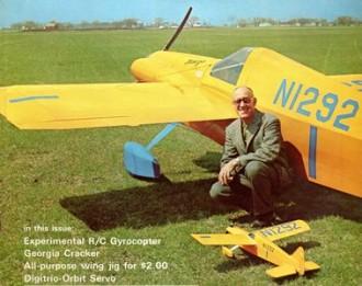Bonzo model airplane plan