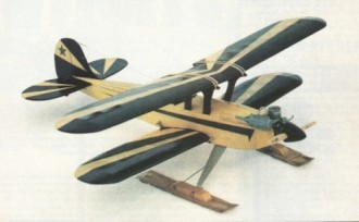 Borealis model airplane plan