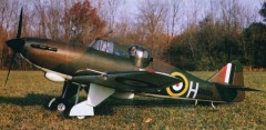 Boulton Paul Defiant model airplane plan