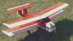 Box Bipe II model airplane plan