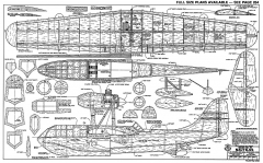 Breguet BRE 790 Nautilus RCM model airplane plan