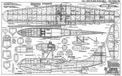 Breguet BRE 790 Nautilus RCM model airplane plan