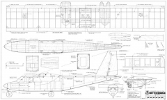 Britten Norman Islander model airplane plan