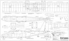 Britten Norman Islander model airplane plan