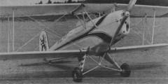 Bucker Jungmann model airplane plan