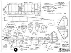 Buhl Pup model airplane plan