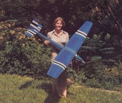 Butterfly II model airplane plan