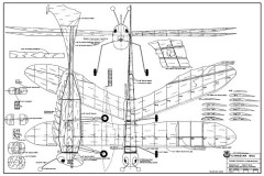 Canadian Bug model airplane plan
