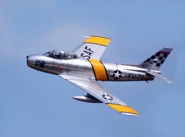 Cap F-86D Sabre model airplane plan