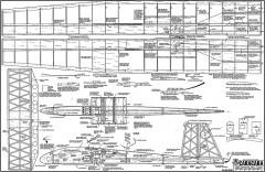 Caracara model airplane plan