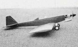 Cardboard 500 model airplane plan