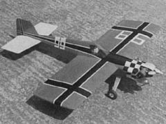 Cassutt model airplane plan
