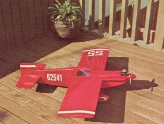 Cassutt Special model airplane plan