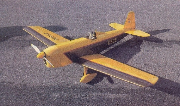 Cece-1 model airplane plan