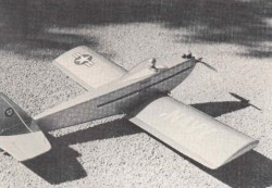 Centerfire model airplane plan
