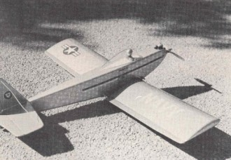 Centerfire model airplane plan