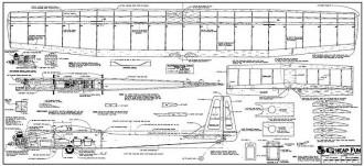 Cheap Fun model airplane plan
