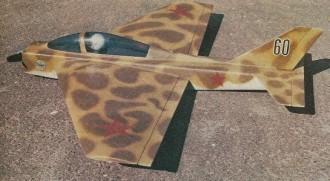 Cherry Bomb model airplane plan