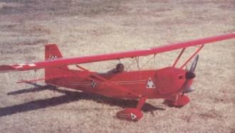 Citabria Pro model airplane plan